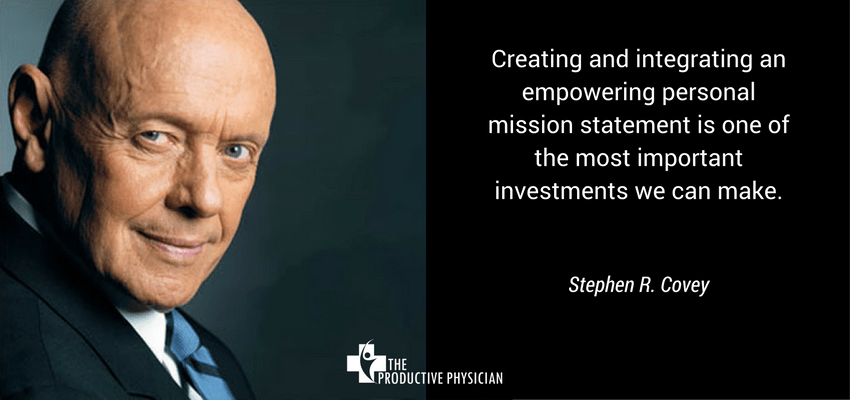 Stephen Covey - Mission Statement