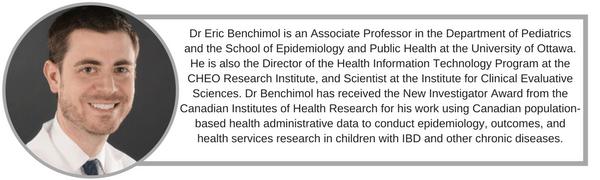 Mentoring: Dr Eric Benchimol
